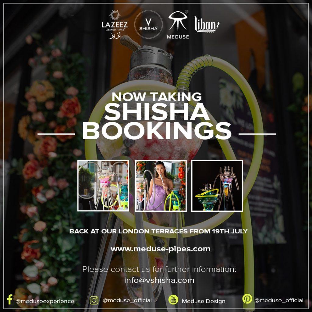Shisha Terrace Flyer